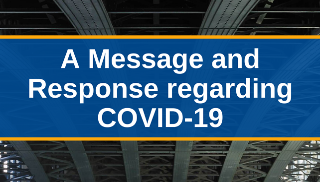 McKool Smith's Message and Response regarding COVID-19