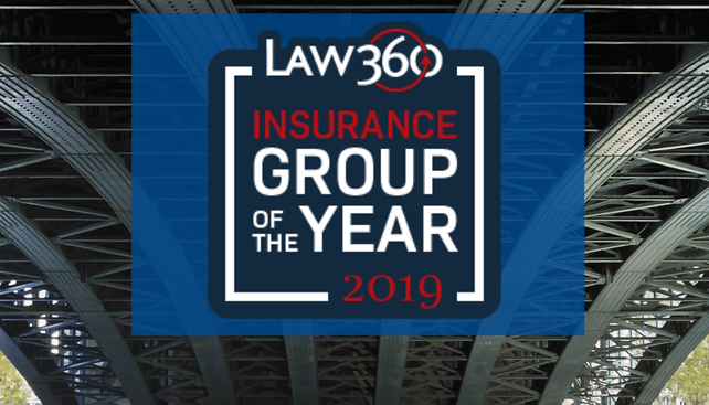 "McKool Smith Named ""Insurance Group of the Year"" by Law360"