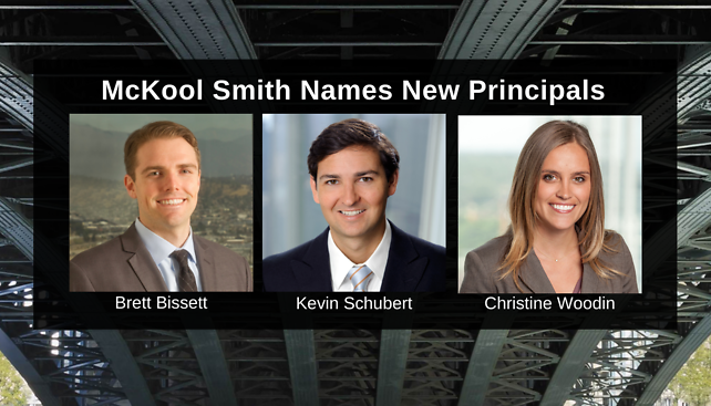 McKool Smith Names New Principals