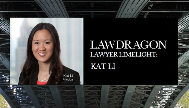 Kat Li featured in Lawdragon's Lawyer Limelight